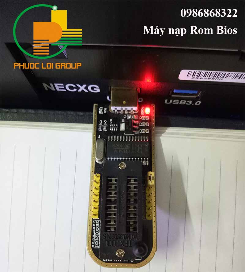 Kit nạp Rom Bios USB