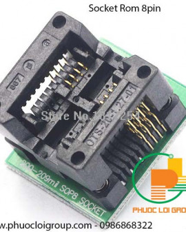 Socket Rom 8 chân Sockets SOP 8 to DIP 8